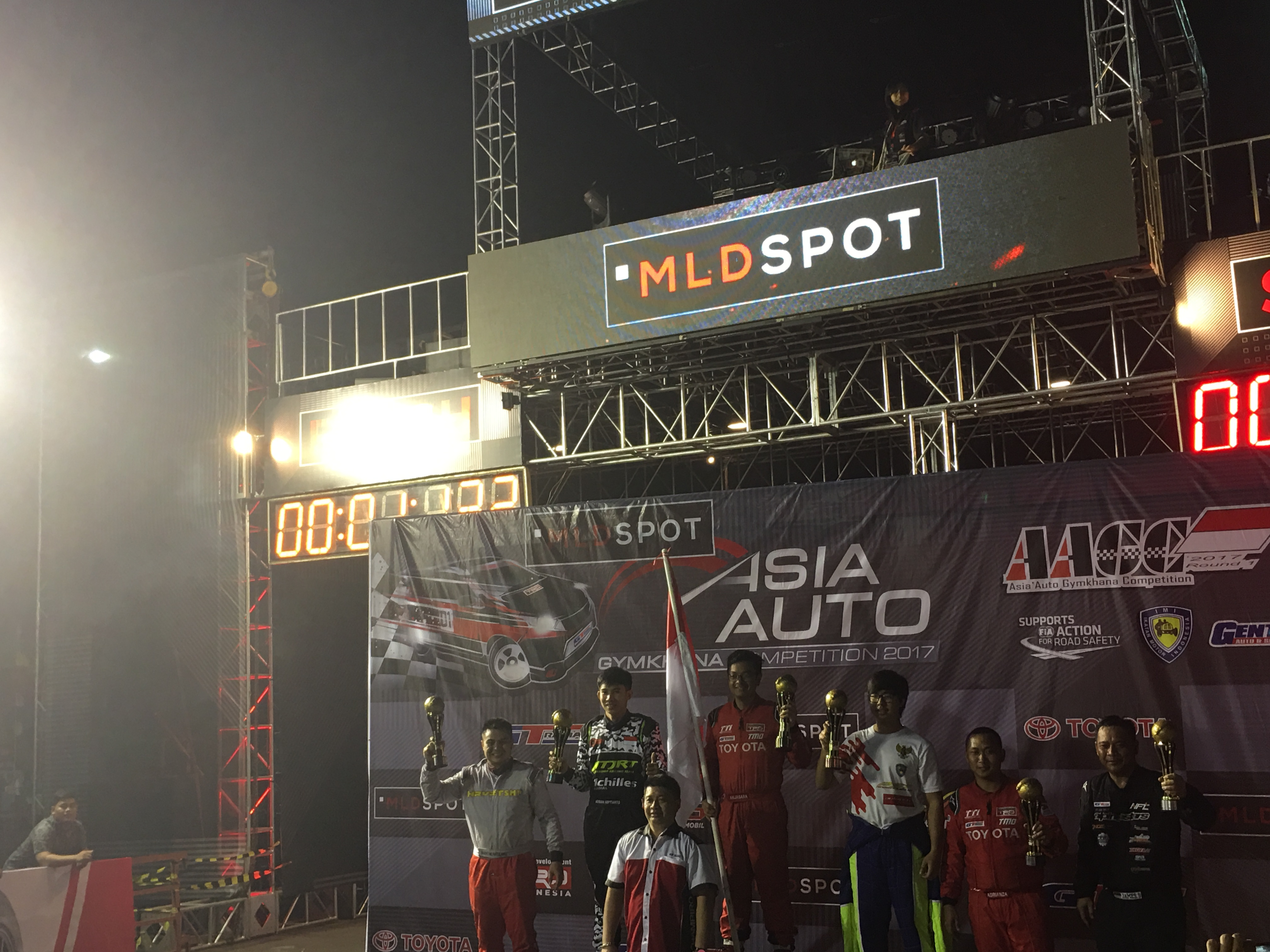 GT RADIAL SUPPORT TIM INDONESIA DI ASIA AUTO GYMKHANA COMPETITION 2017