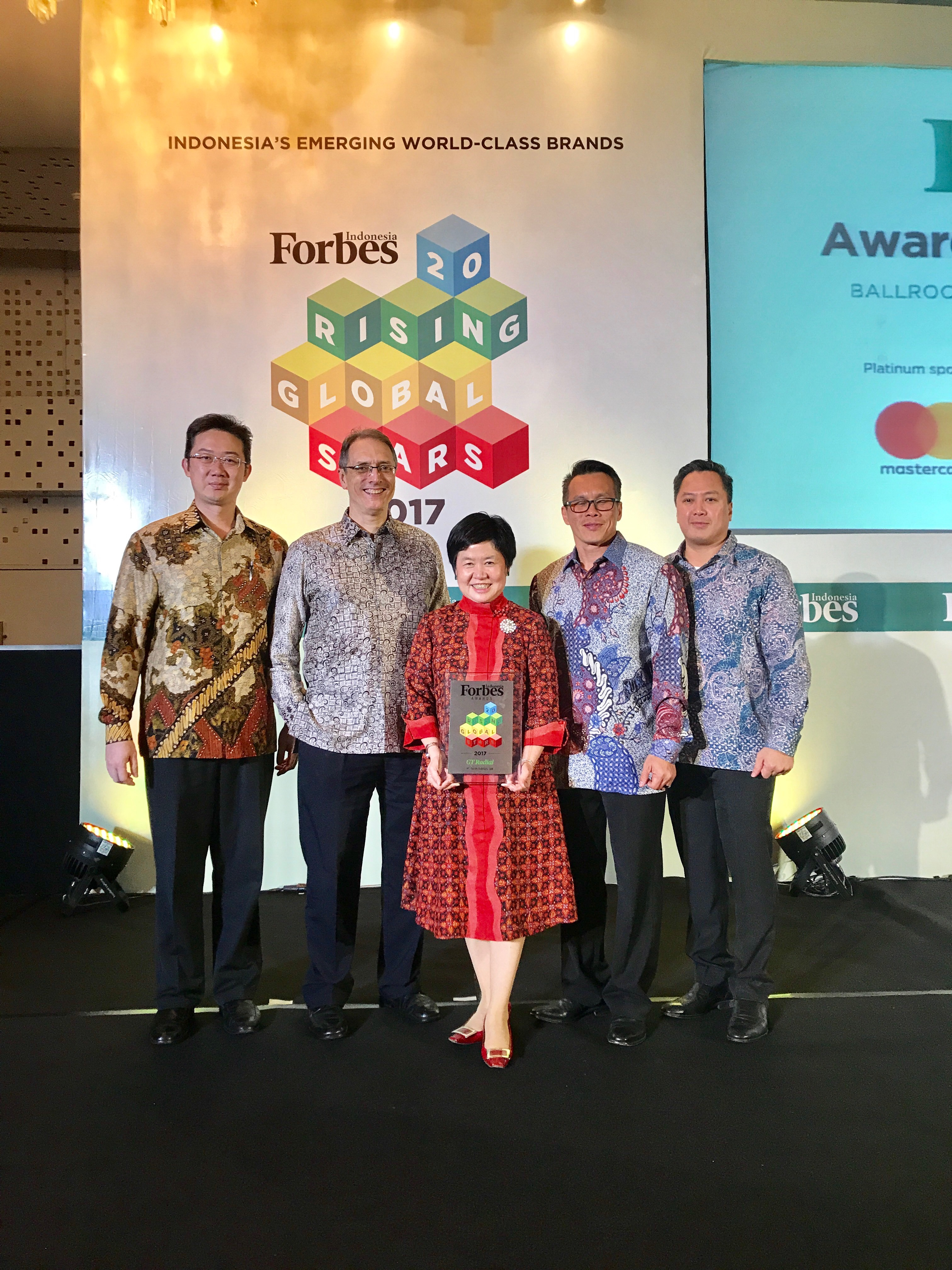GT Radial Raih 20 Rising Global Star Award 2017