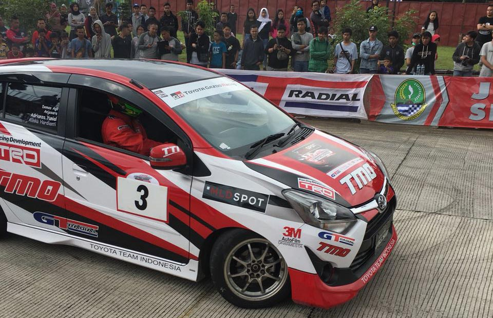 GT RADIAL MENJADI OFFICIAL TIRE AUTO GYMKHANA 2018
