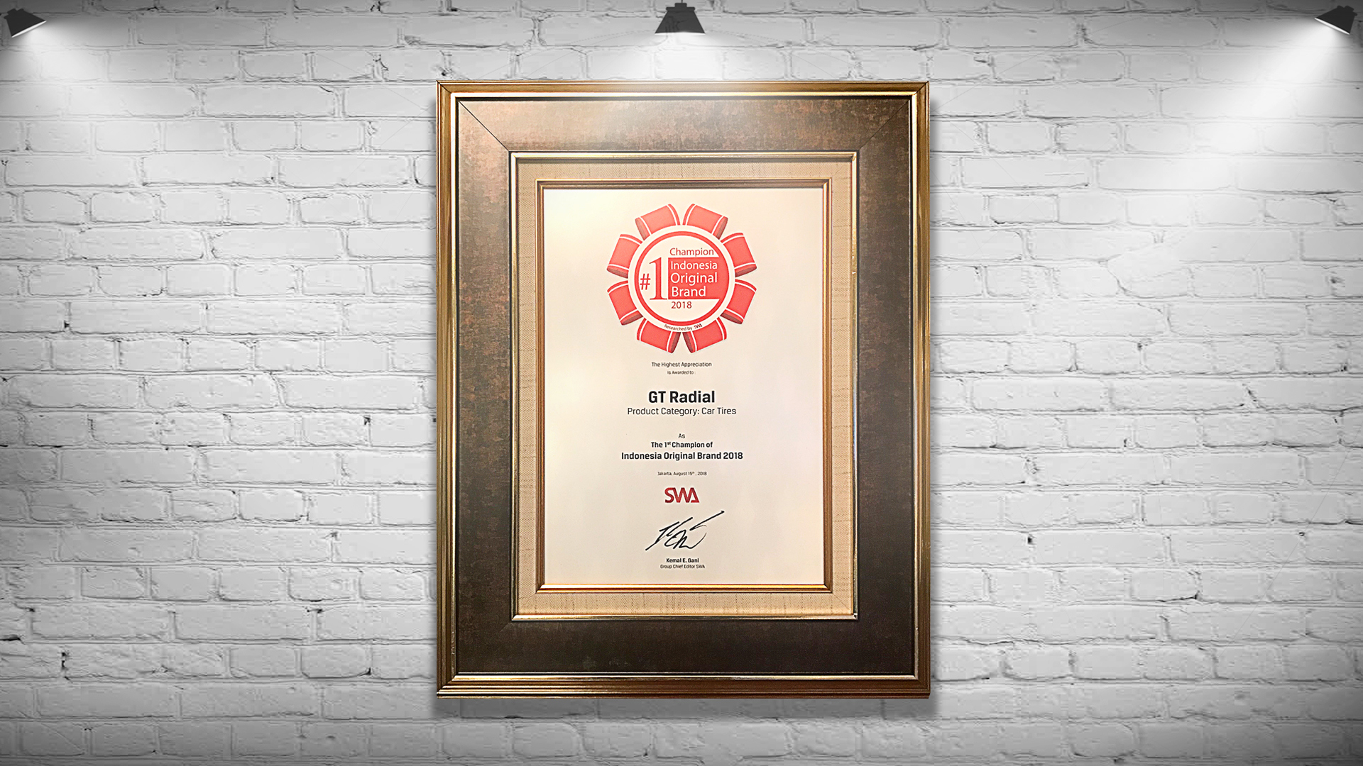 Indonesia Original Brand Award 2018